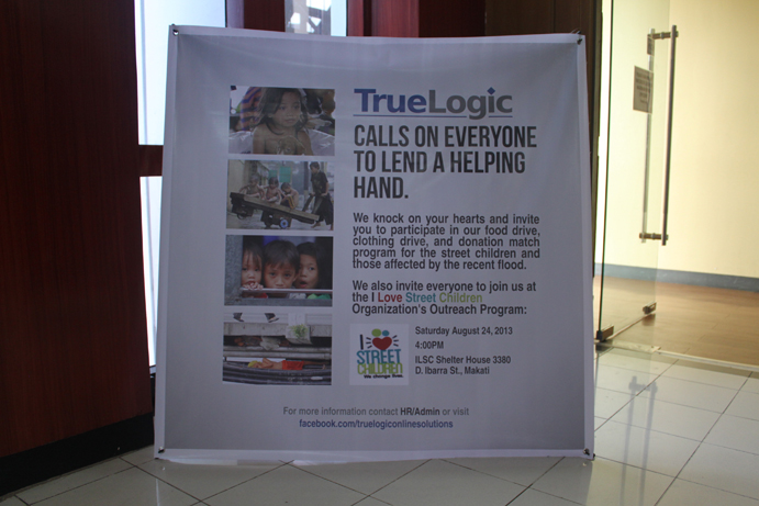 TrueLogic Reaches Out to Help Displaced Children and Families from the Recent Floods