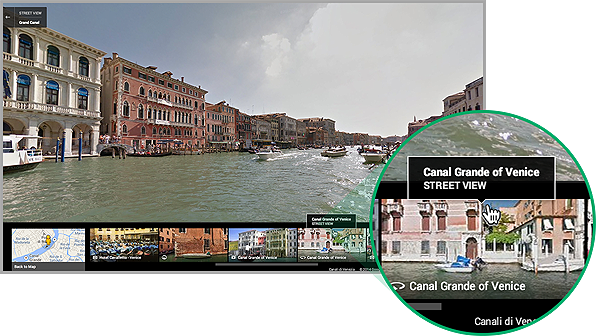 Google Maps' new Rich Image Carousel feature