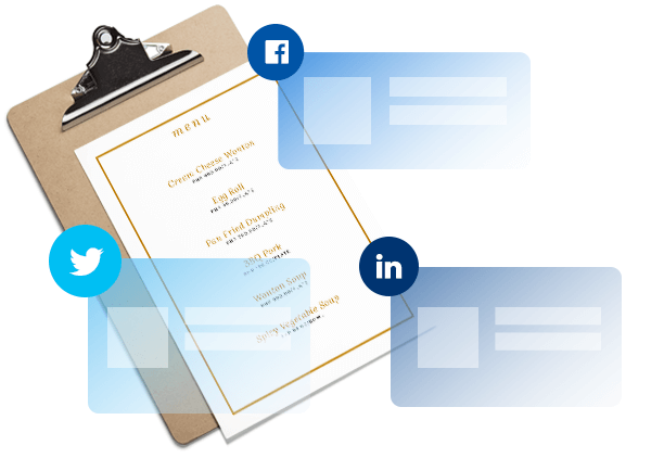 social media - digital marketing for restaurants