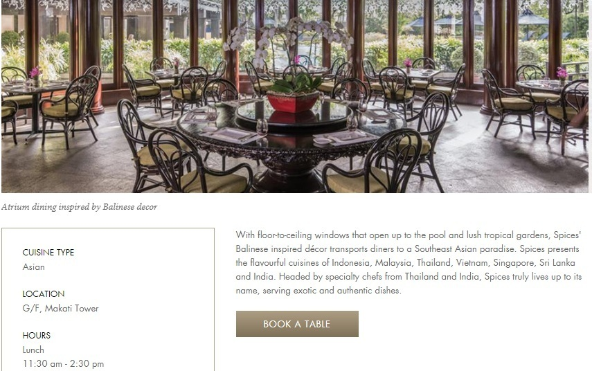 Fine Dining Restaurant Website