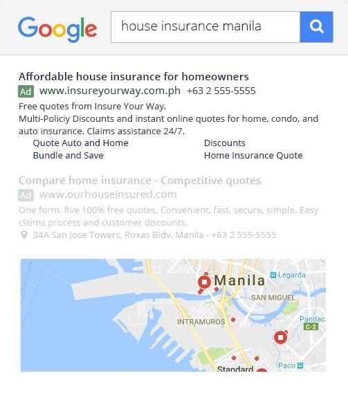 PPC ads on Google